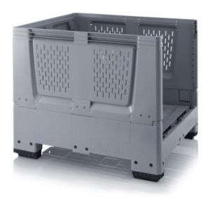 Collapsible Pallet Boxes with Ventilation Holes