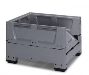 Pallet Boxes Closed with Collapsible Sides